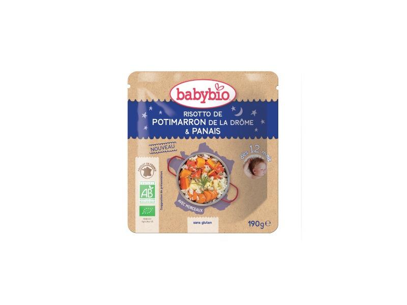 BabyBio večerní menu dýňové rizoto s pastinákem 190g