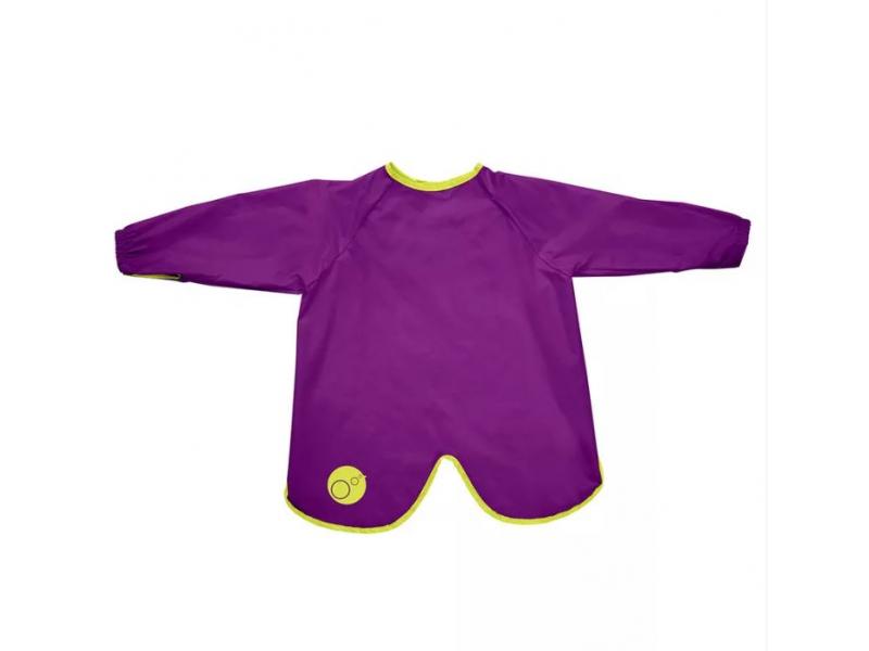 Bryndáček s rukávy - velký - fialový 1