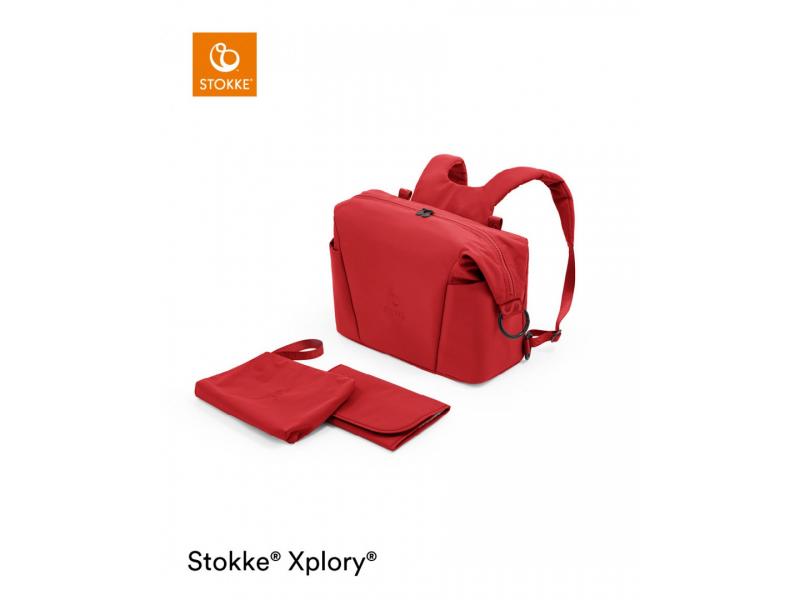 Stokke Přebalovací taška Xplory® X Ruby Red