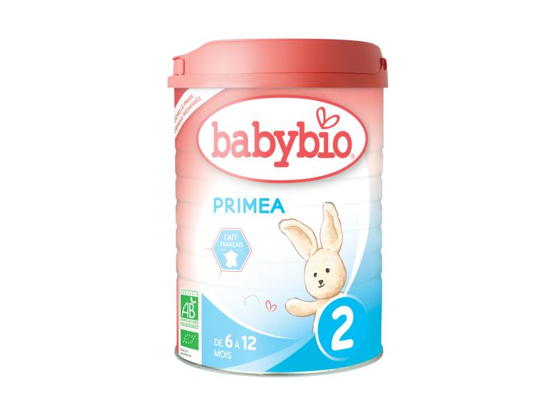 BabyBio Primea 2 pokračovací mléčná kojenecká výživa v prášku 900g