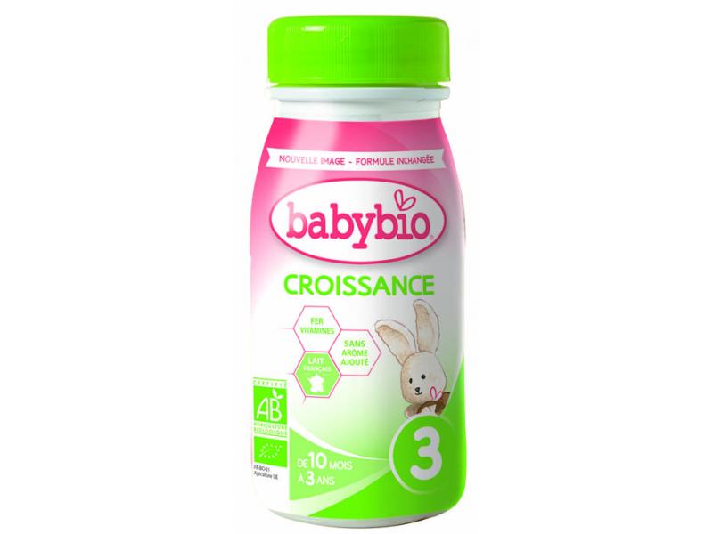 Kojenecké mléko Croissance 3 tekuté 25cl - NOVINKA 2020 1