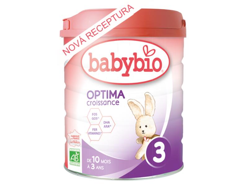 Kojenecké mléko Optima 3 800 g - NOVINKA 2020 1
