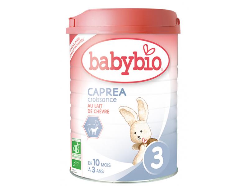 kozí kojenecké mléko CAPREA 3 Croissance 900g 1