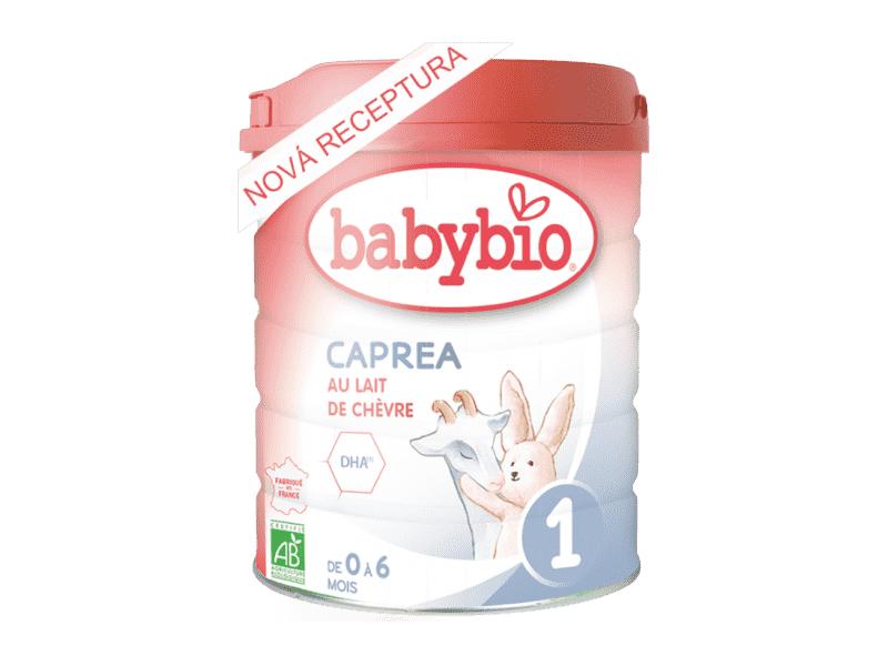 BabyBio Kozí kojenecké mléko Caprea 1 800 g - NOVINKA 2020