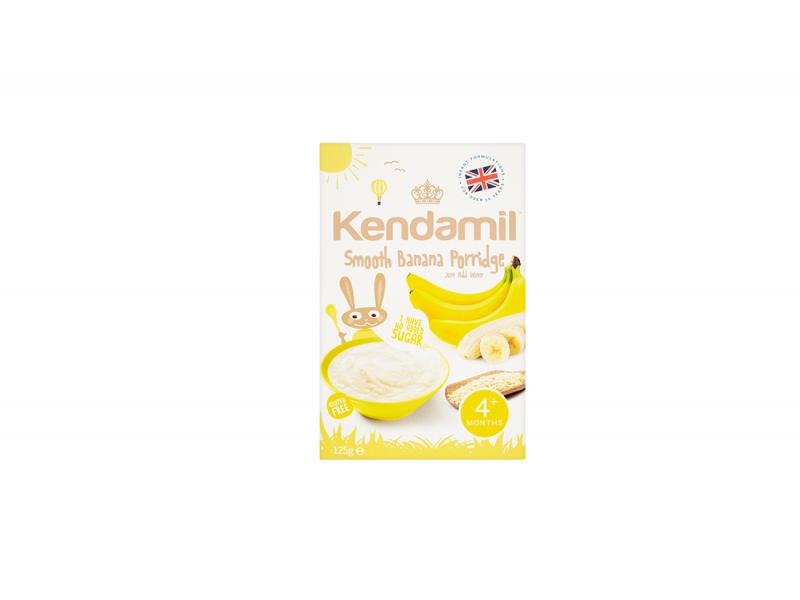 KENDAMIL Jemná dětská banánová kaše (125g) 1