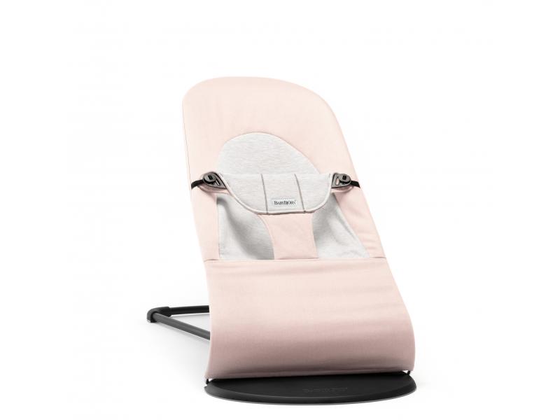 Lehátko Balance Soft Light Pink /Grey cotton Jersey 1