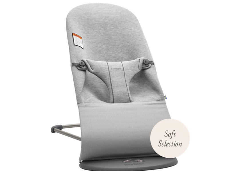 Baby Björn Lehátko Balance Bliss Light Grey 3D Jersey Soft Collection