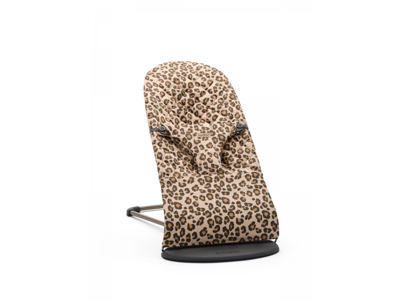 Lehátko Bouncer Bliss Leopard print cotton 1