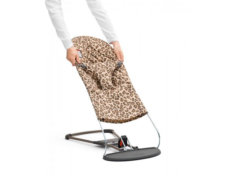 Potah na lehátko Balance BLISS Leopard print cotton 1