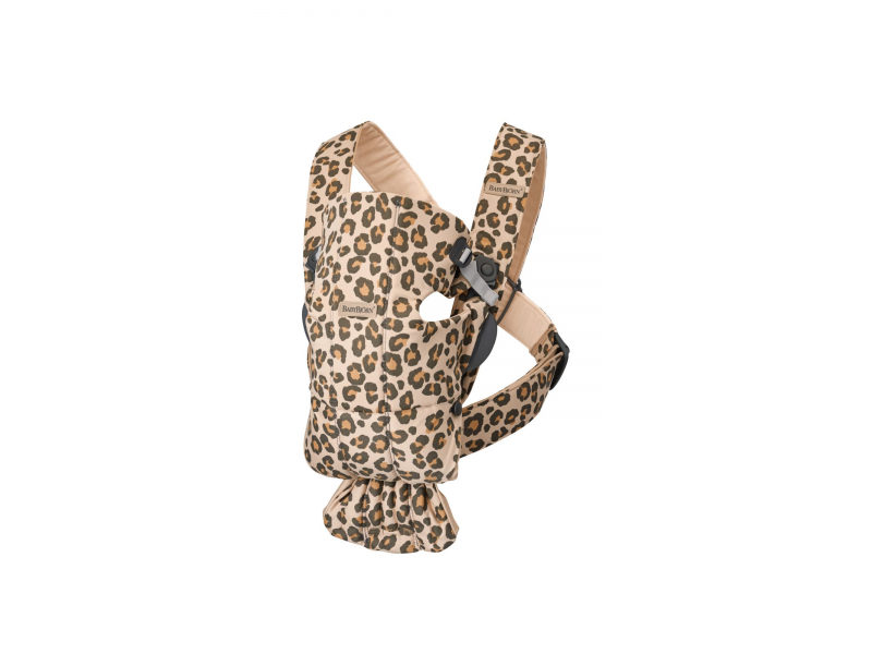 Nosítko MINI Leopard print cotton 1