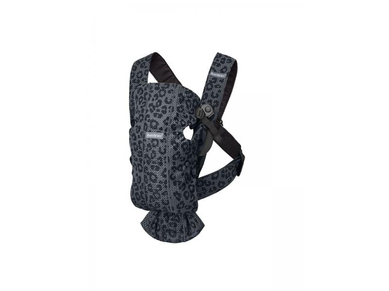 Nosítko MINI Anthracite/Leopard 3D Mesh 1