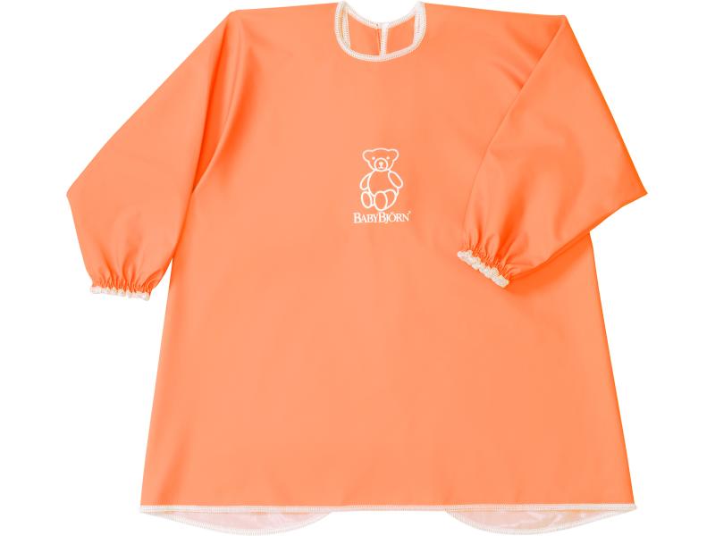 Zástěrka na krmení a hraní Smock Orange 1