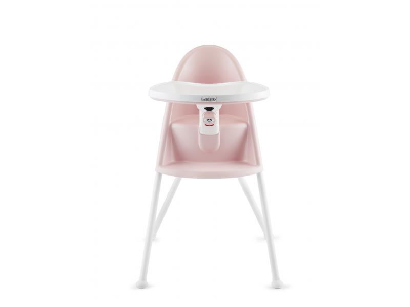 Baby Björn Židle vysoká s pultíkem Light Pink