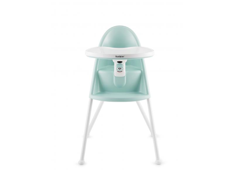 Baby Björn Židle vysoká s pultíkem Light Green