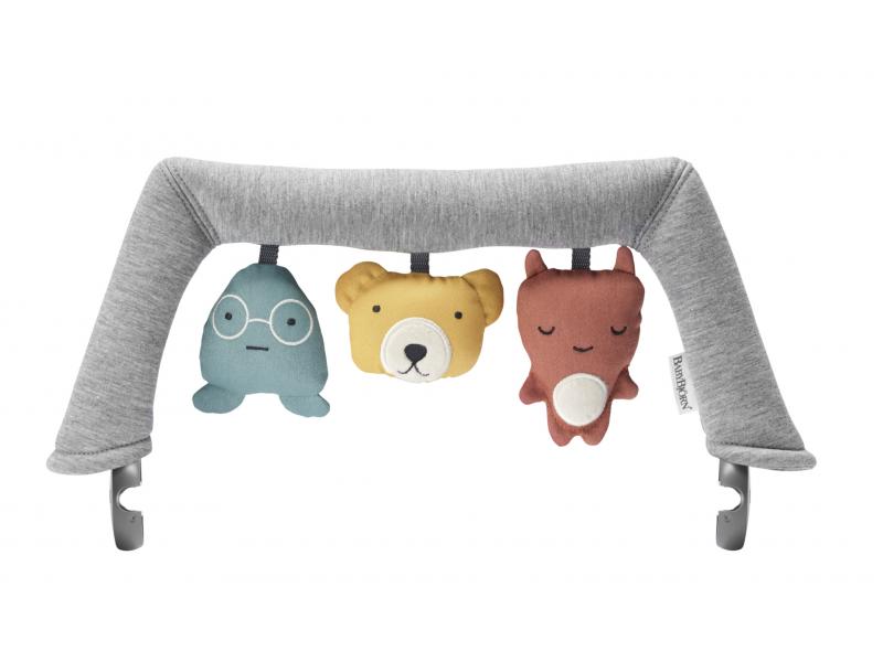 Hračka na lehátko textilní zvířátka, Soft Friends 1