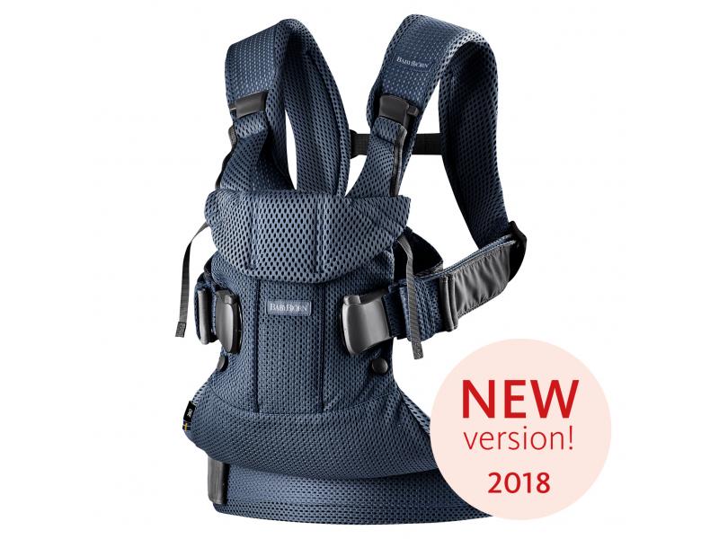 Baby Björn Nosítko ONE 2018 Navy blue 3D Mesh