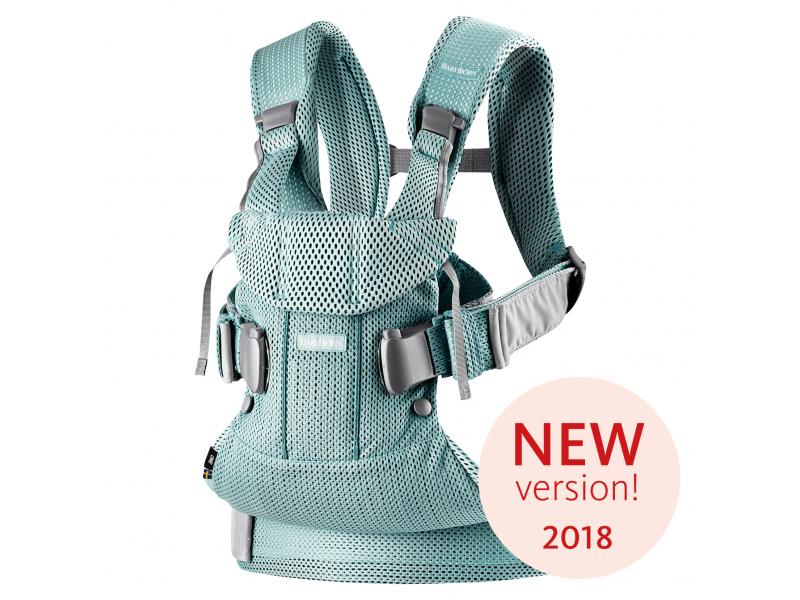 Baby Björn Nosítko ONE 2018 Frost green 3D Mesh