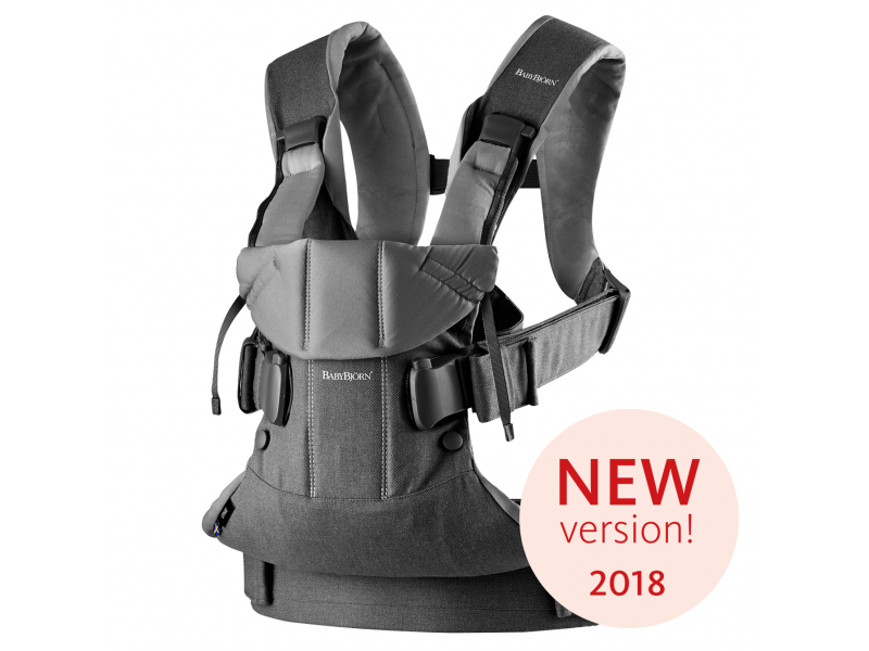 Ergonomické nosítko ONE Denim grey/Dark grey Cotton 2018 1