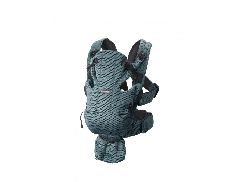 Ergonom.nosítko MOVE Sage Green 3D Mesh 1