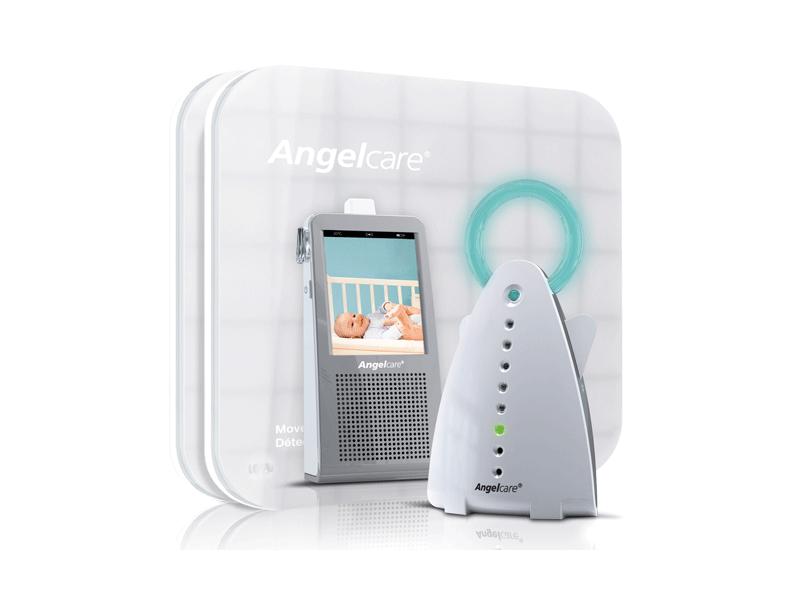 "Angelcare AC1100 Monitor pohybů s videochůvou 2-Way FHSS, 2 desky, (3v1) 2,75"""