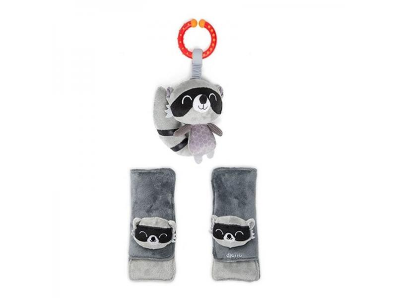 Chránič pásu Soft Wraps™ & Toy Racoon 1