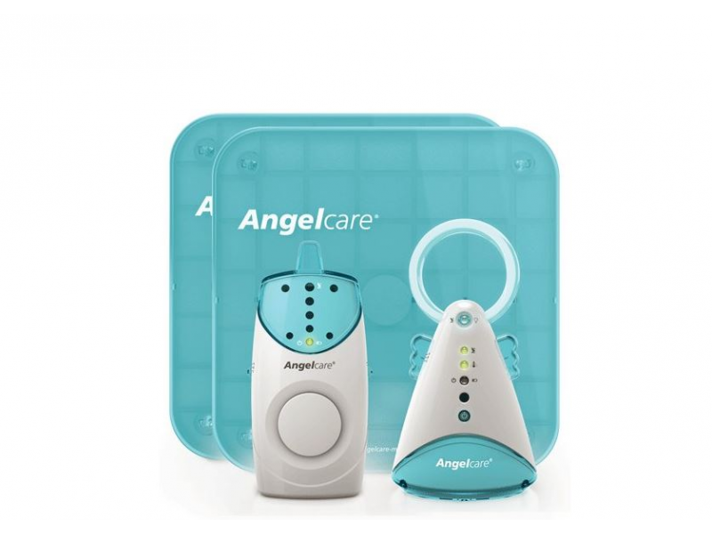 Angelcare AC601 Monitor pohybů s chůvičkou 1-Way, 3kan, 2 desky, (2v1)