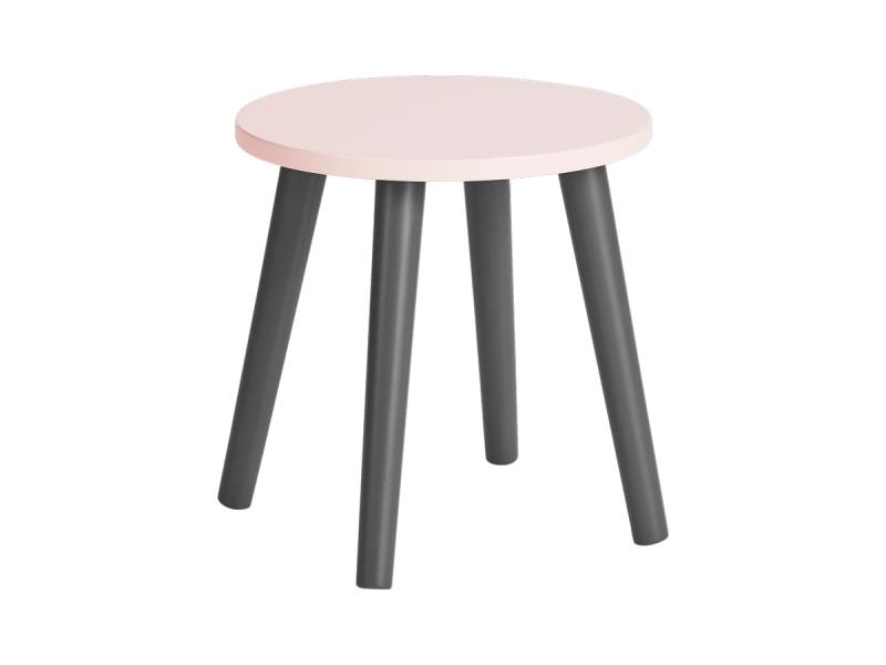 DONE BY DEER Dětská stolička - růžová