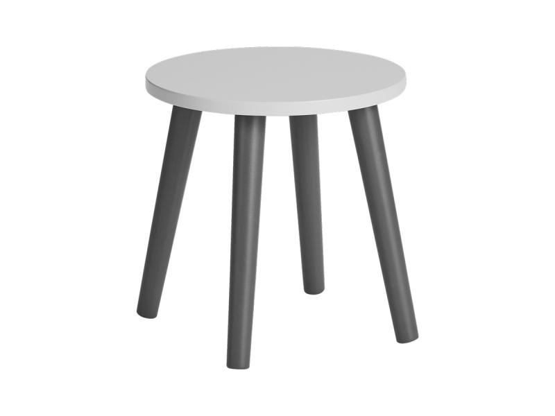 DONE BY DEER Dětská stolička - šedá