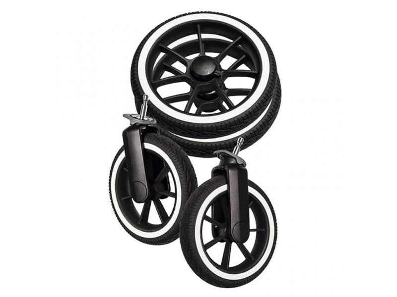 Wheel package NXT90/F black Solight-EccoR/Whitte 96175 1