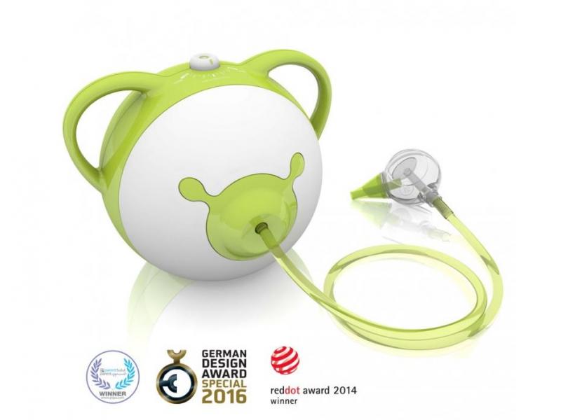 Nosiboo Pro Nasal Aspirator - odsávačka nosní motorová - zelená 1