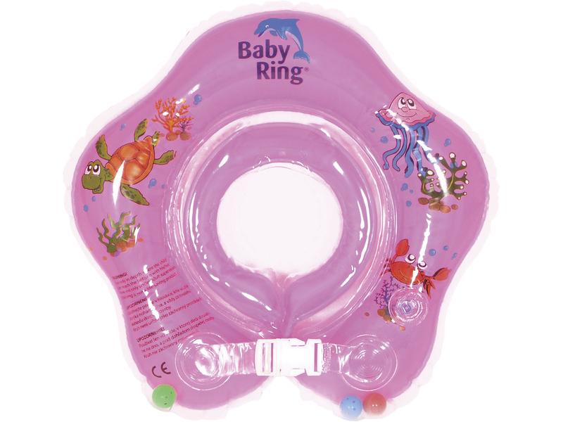 Baby ring 3-36 měs. růžová 1