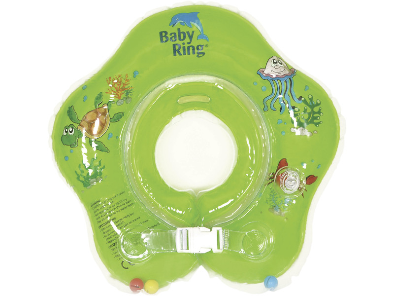 Baby ring 0-24 měs. zelená 1