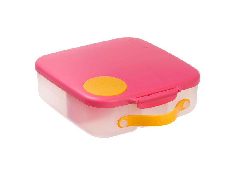 Svačinový box - růžový 1