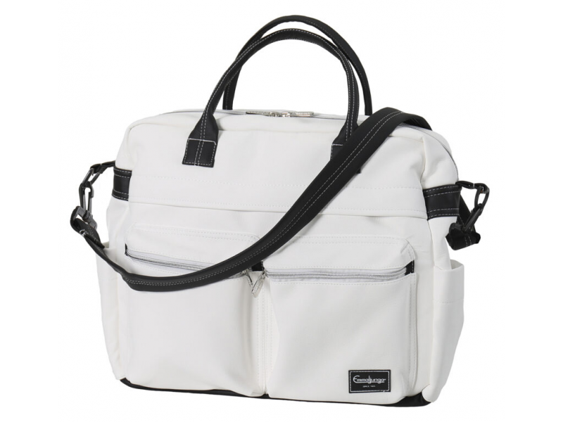 Changing bag TRAVEL leatherette white 45107 1