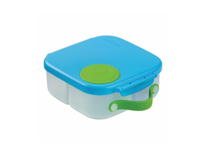 B.BOX Svačinový box střední- modrý/zelený