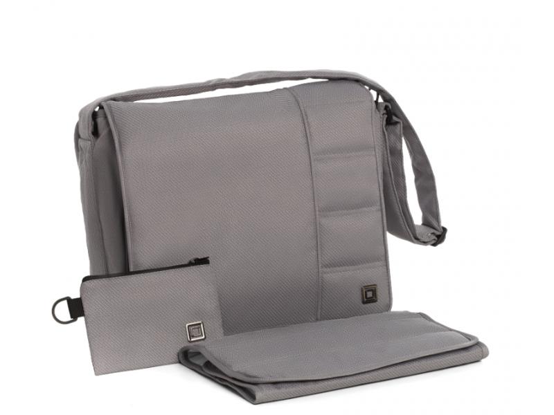Přebalovací taška MESSENGER Stone grey 2020 1