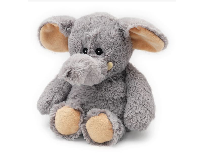 Nahřívací plyšový Slon - Plush toy Eddie Elephant - YEE 1