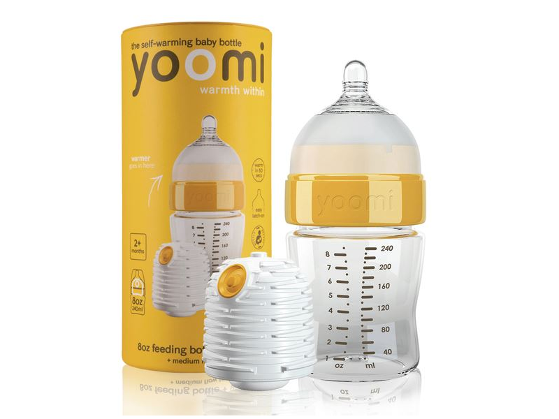 Kojenecká láhev 240 ml, ohřívač a dudlík - Y18B1W 1