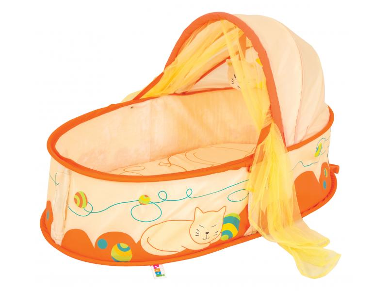 Cestovní postýlka pro miminko Nomad Kočička 1