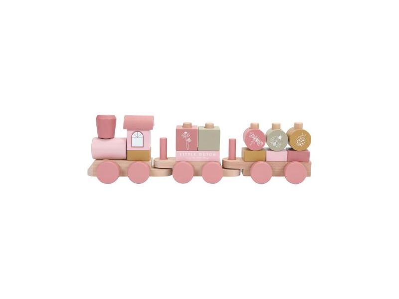 Vláček pink 1