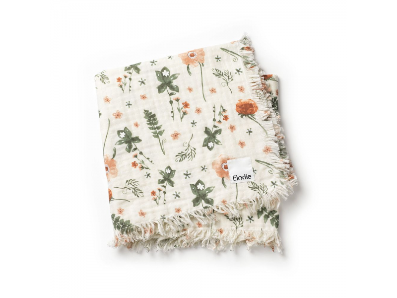 Elodie Details Bavlněná deka Meadow Blossom