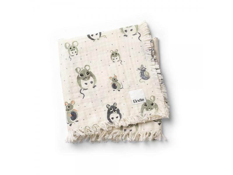 Bavlněná deka Forest mouse 1