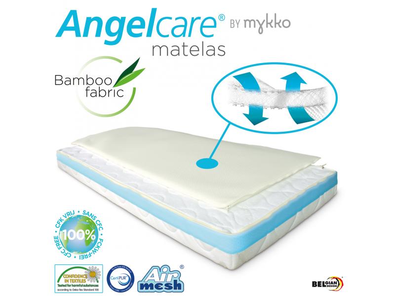 Angelcare Matrace 60x120 cm, výška 10 cm, pro bezkontaktní monitory dýchacích pohybů