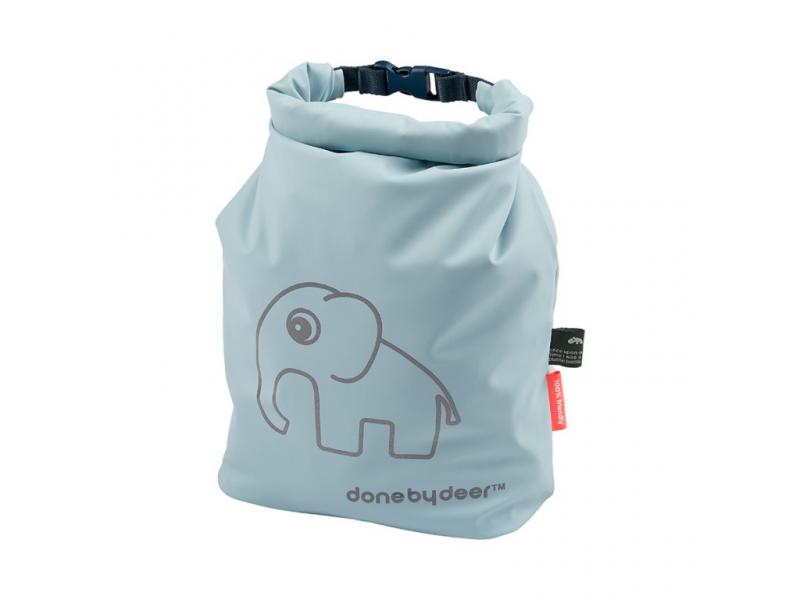 DONE BY DEER Rolovací taška Elphee - modrá