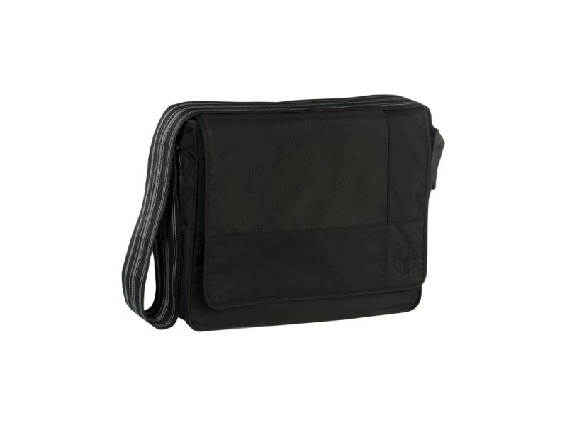 Casual Messenger Bag Patchwork black 1