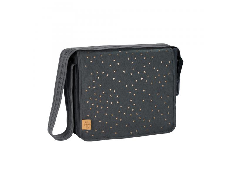 Casual Messenger Bag Triangle dark grey 1