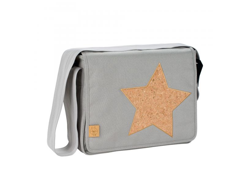 Casual Messenger Bag Cork Star light grey 1