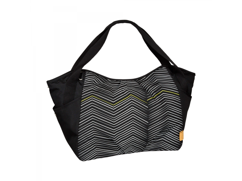 Casual Twin Bag Zigzag black white 1