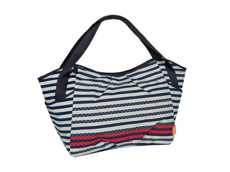 Lässig Casual Twin Bag 2017 Striped zigzag navy