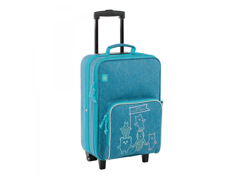 Lässig Trolley About Friends mélange blue